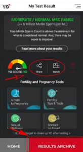 hdsd yo sperm test 17