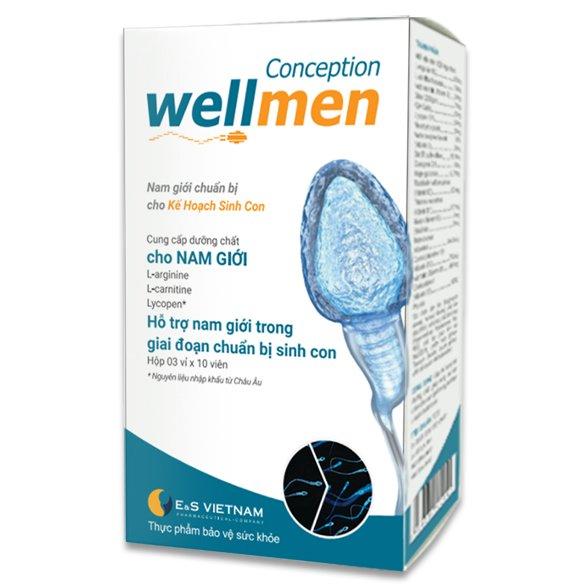 Wellmen Bổ Tinh Trùng - có hàm lượng L-arginine hoàn hảo