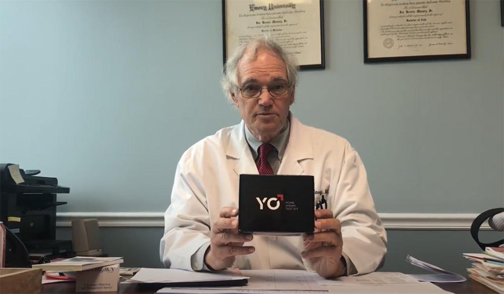 Yo Sperm là bộ xét nghiệm tinh trùng tại nhà được FDA và CE cấp phép