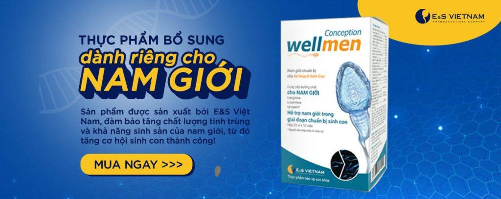 Wellmen bổ sung dinh dưỡng cải thiện sức khỏe nam giới