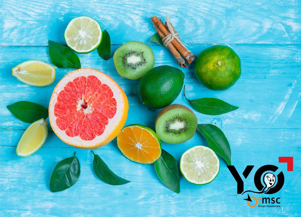 Ăn hoa quả Vitamin C để tạo môi trường acid âm đạo thuận lợi cho tinh trùng X