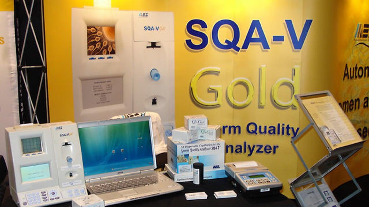 Thiết bị phân tích tinh dịch đồ chuyên dụng SQA V-gold