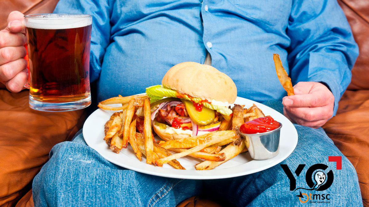 ăn uống không khoa học ảnh hưởng và góp phần gây ra khó xuất tinh