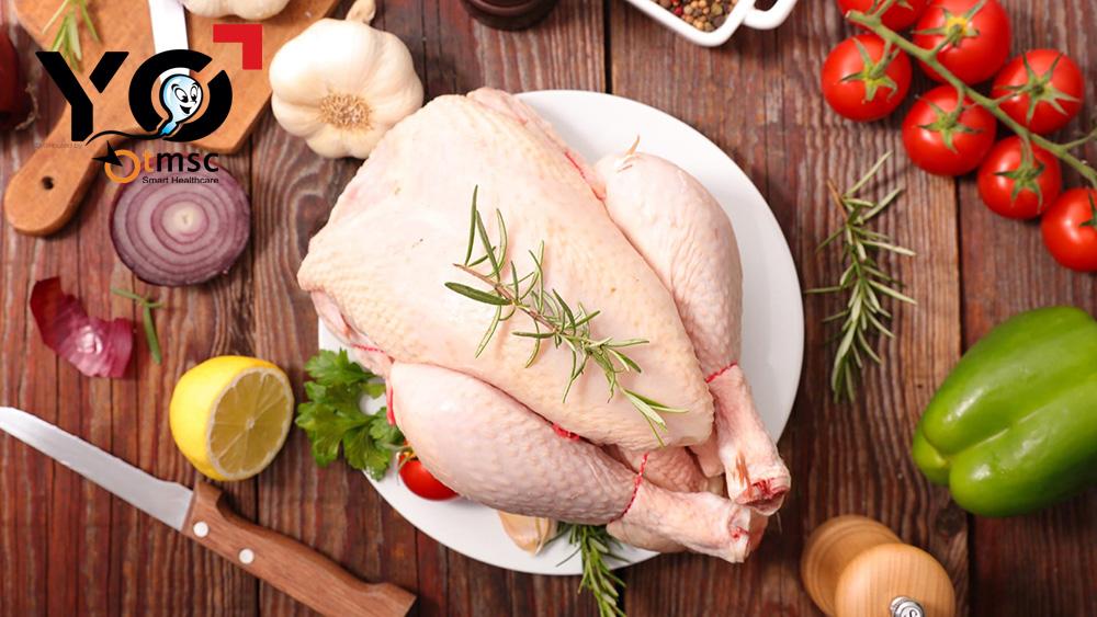 Ăn thịt gà giúp chống xuất tinh sớm