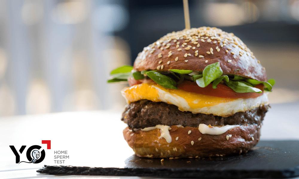 Thức ăn nhanh là một trong những tác nhân làm tinh trùng loãng-min