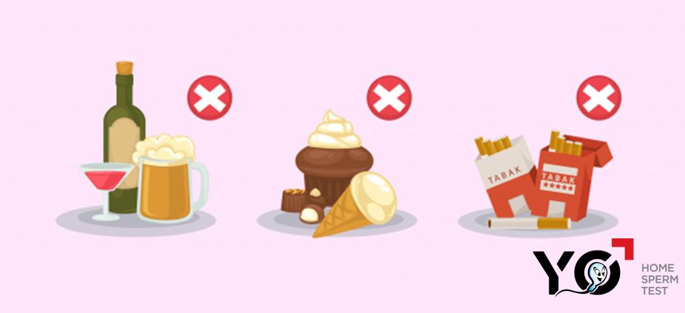 Các thực phẩm, đồ ăn uống không tốt cho tinh hoàn