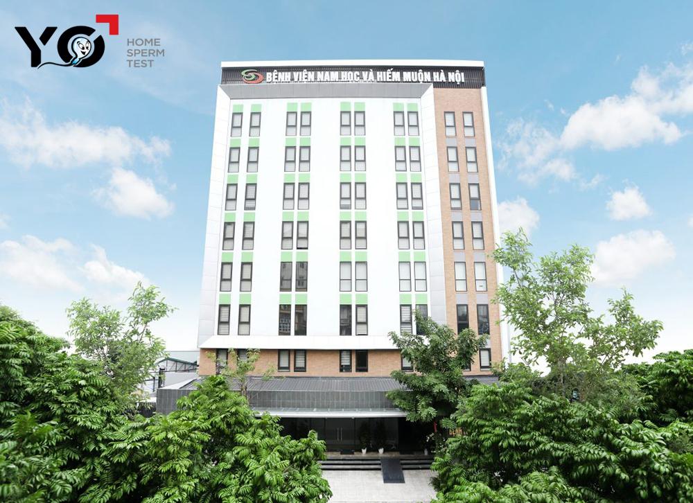 Bệnh viện Nam học và Hiếm muộn Hà Nội là cơ sở y tế đầu ngành về nam học