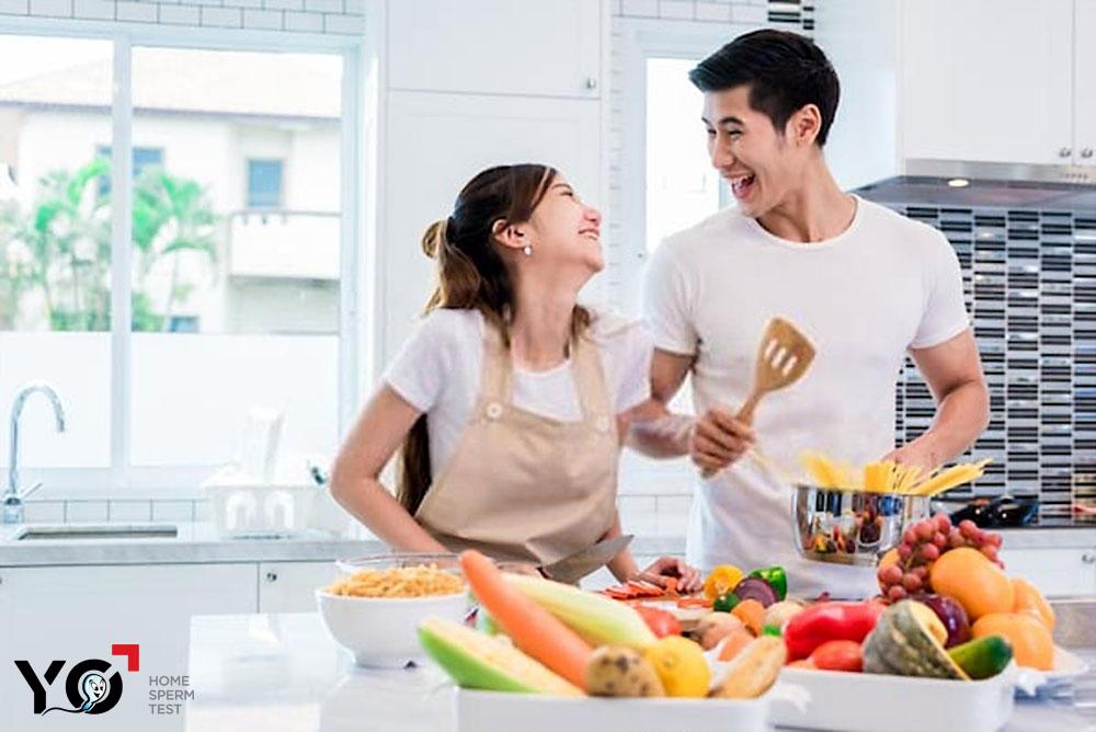 Bổ sung dinh dưỡng giúp ba mẹ cải thiện sức khỏe, tăng cơ hội thụ thai thành công