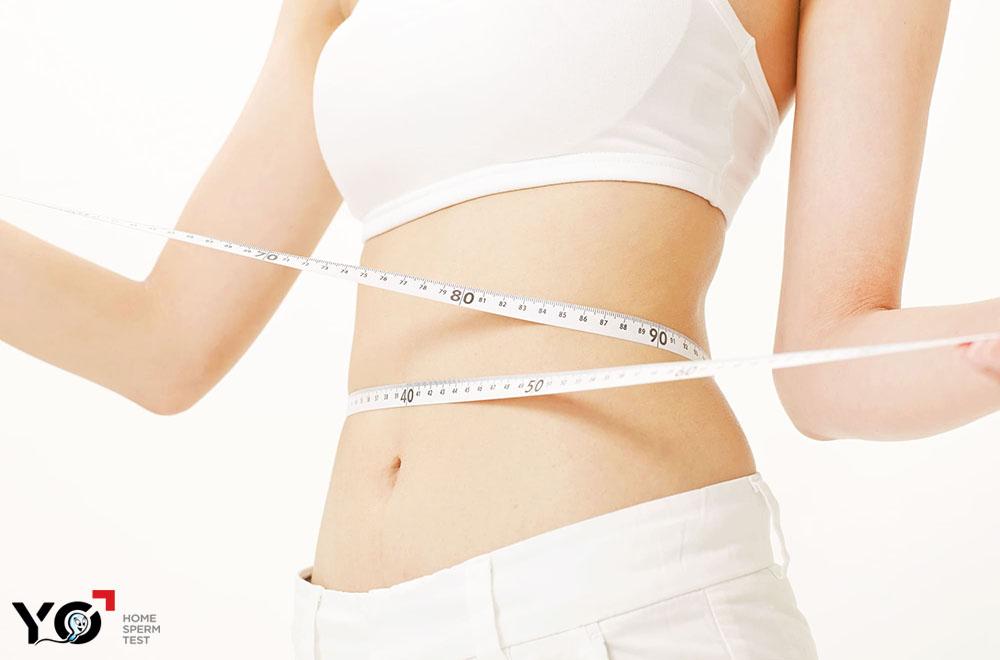 Giữ cân nặng ỏ mức hợp lý giúp tăng khả năng thụ thai ở cả nam và nữ