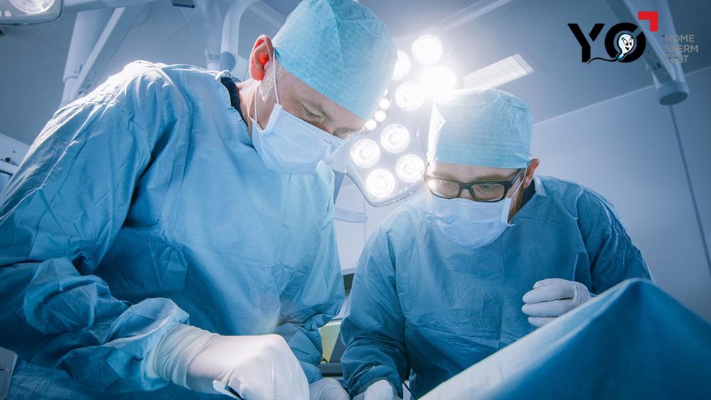 Một số phẫu thuật để lại di chứng có thể gây vô sinh nam