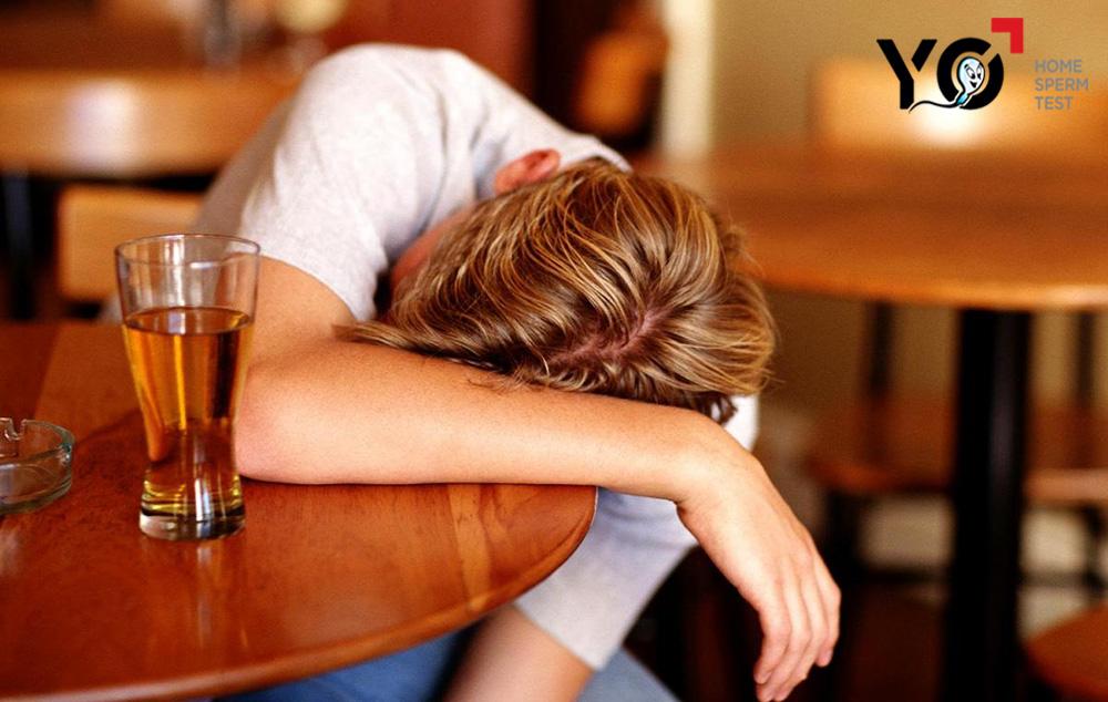 Nam giới có thể bị vô sinh do thói quen sống không lành mạnh