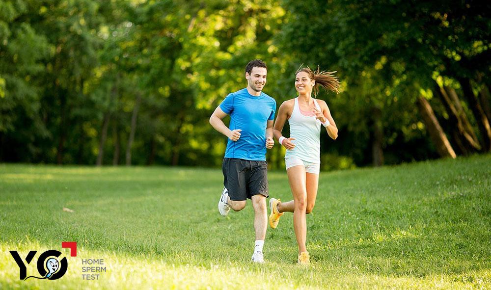 Thường xuyên rèn luyện thể thao, giữ thân thể khỏe mạnh giúp tăng cơ hội có thai nhanh cho các cặp vợ chồng